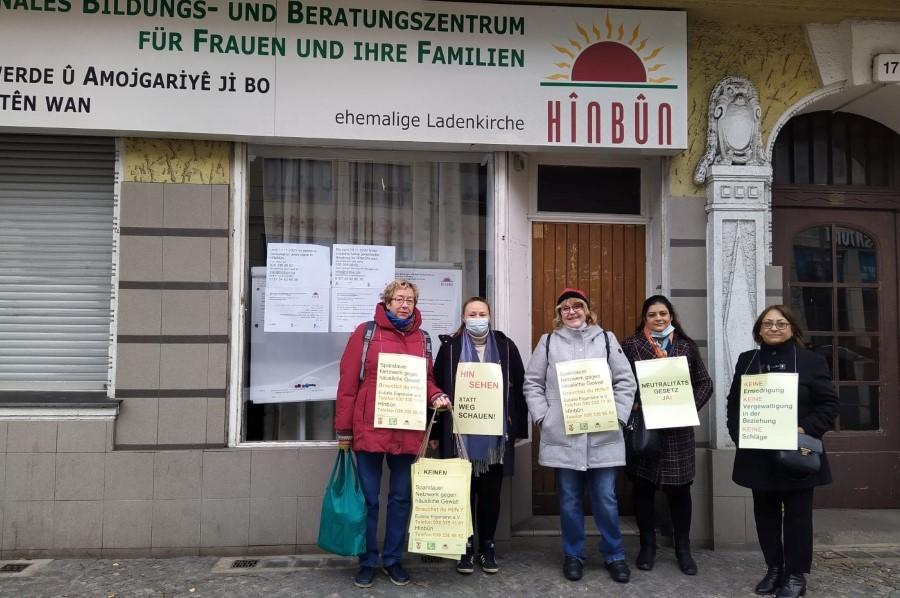 Beratung bei häuslicher Gewalt in Berlin