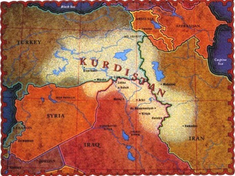 Wo liegt Kurdistan