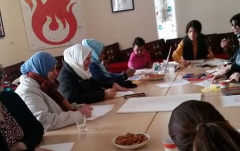 Deutschlerngruppen für Frauen mit Kindern in Berlin