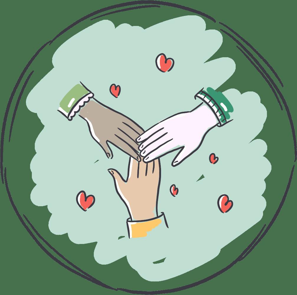 Mitmachen und Unterstützen